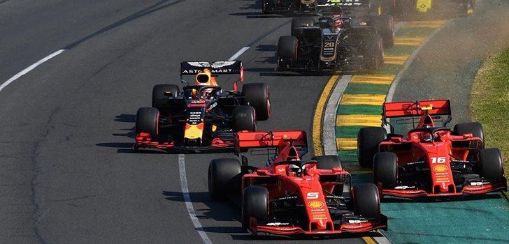 Los monoplazas de F1, en Australia 2018