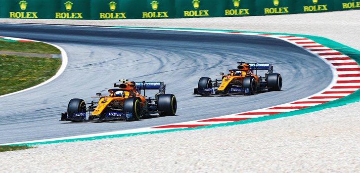 McLaren llega a su carrera especial en Silverstone