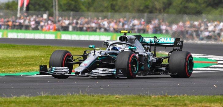Bottas, el más rápido en los Libres 2 de Silverstone