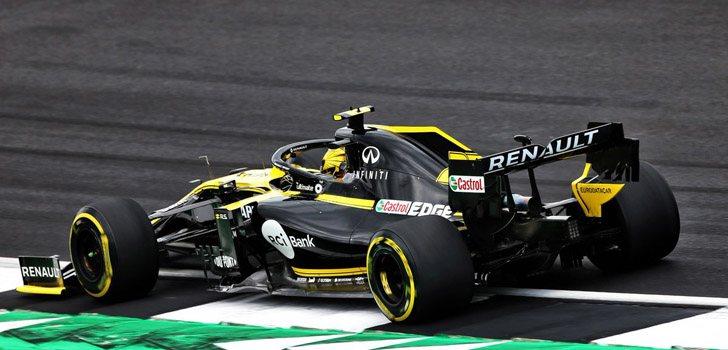 Nico Hülkenberg, satisfecho con el rendimiento de su monoplaza en Silverstone