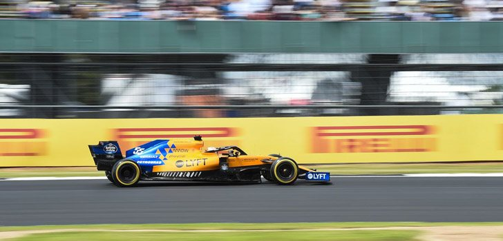 Carlos Sainz Silverstone 2019