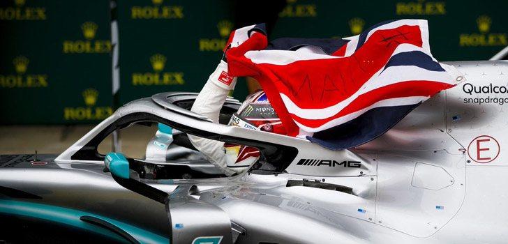 Lewis Hamilton se alza con el triunfo en Silverstone