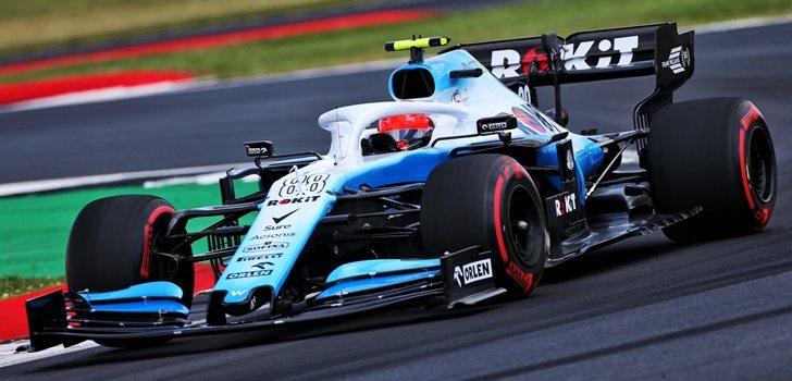 Robert Kubica rueda en Silverstone