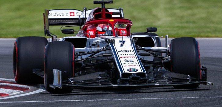 Kimi Räikkönen destaca la falta de velocidad en la carrera de Silverstone