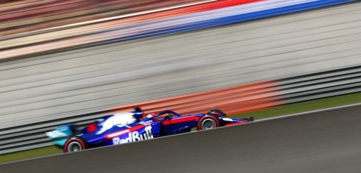 Kvyat, durante el GP de Alemania