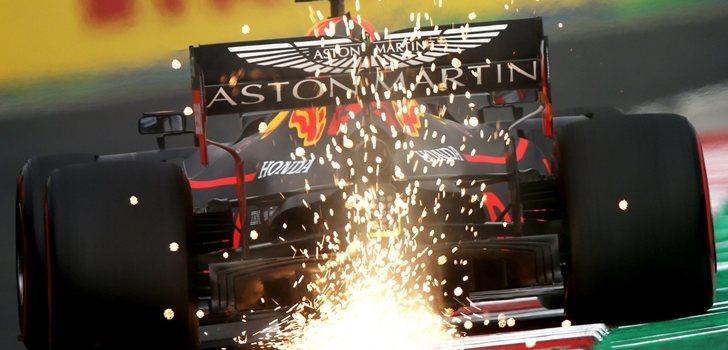 Verstappen roza el trazado de Hungaroring