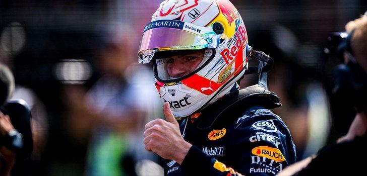 Verstappen, satisfecho tras su segunda plaza en Hungría