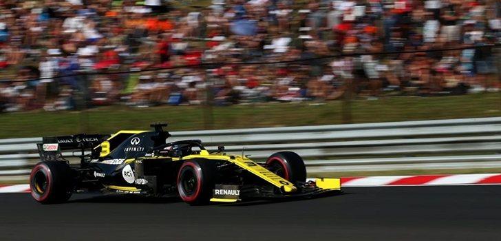 Ricciardo, durante el pasado GP de Hungría