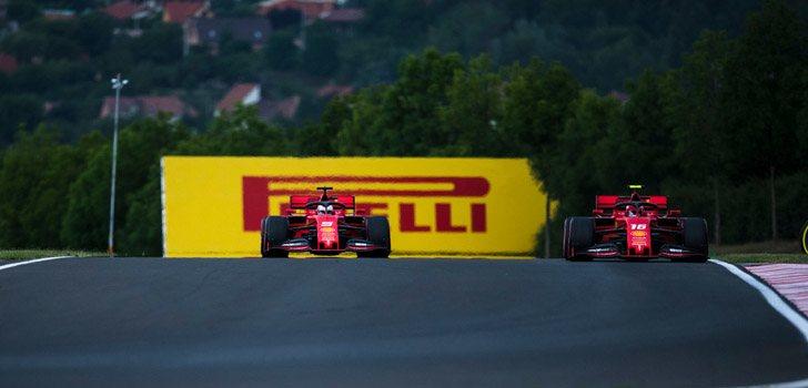 Vettel, descontento con rendimiento de SF90 en 2019