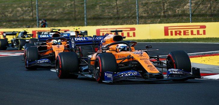 Carlos Sainz y Lando Norris, claves en McLaren