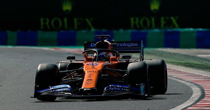 Carlos Sainz Jr. en el Gran Premio de Hungría)