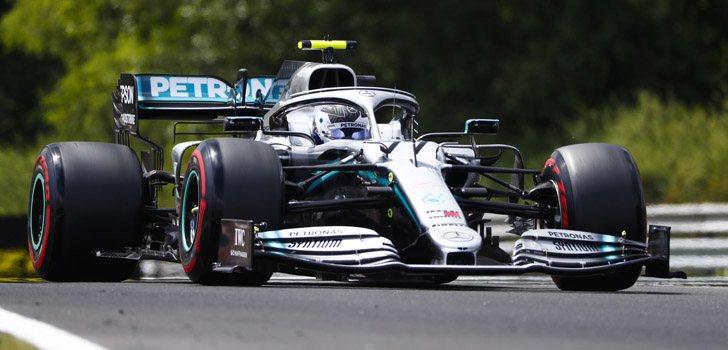 Valtteri Bottas, contento con su continuidad en Mercedes