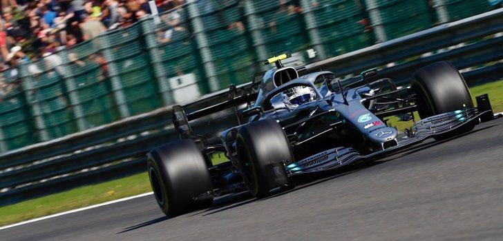 Valtteri Bottas, durante los Libres 2 del GP de Bélgica