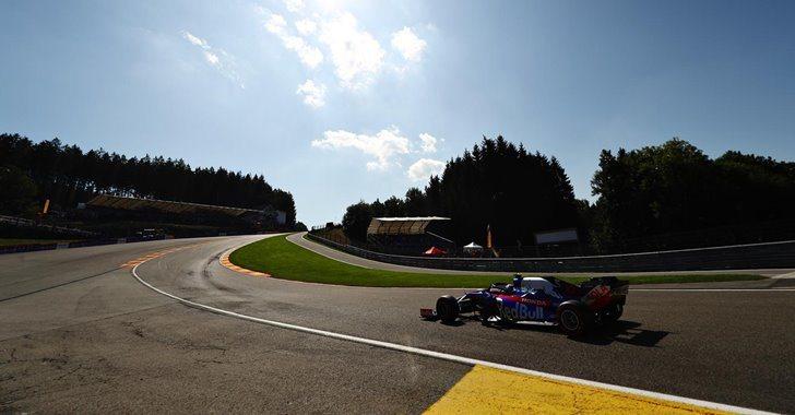 Toro Rosso en el GP de Bélgica