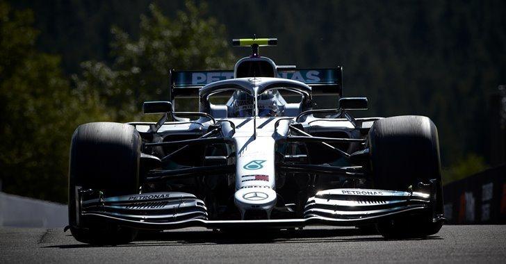 Valtteri Bottas en el GP  de Bélgica