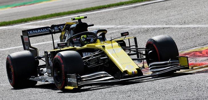 Nico Hülkenberg, durante el GP de Bélgica 2019