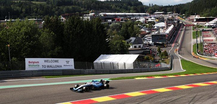 Robert Kubica, en el GP de Bélgica 2018