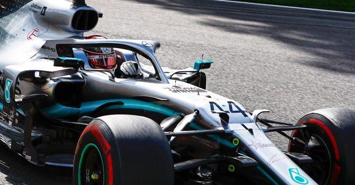 Lewis Hamilton en el Gran Premio de Bélgica