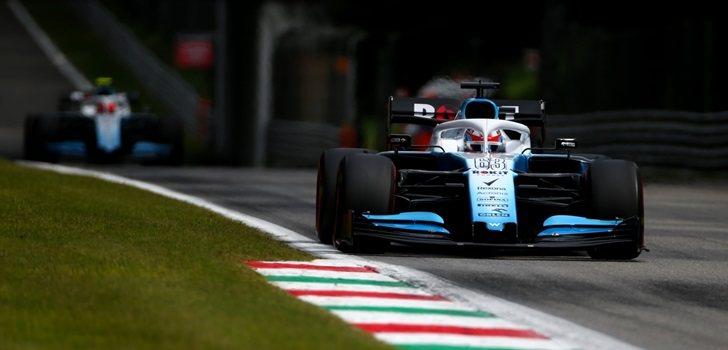 George Russell, en la qualy del GP de Italia 2019