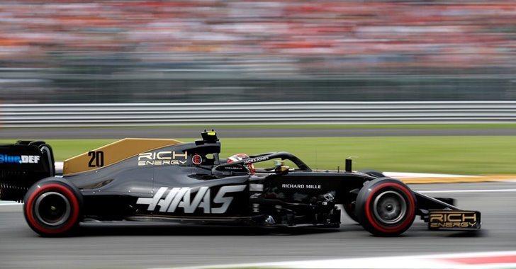 Magnussen en el GP de Italia
