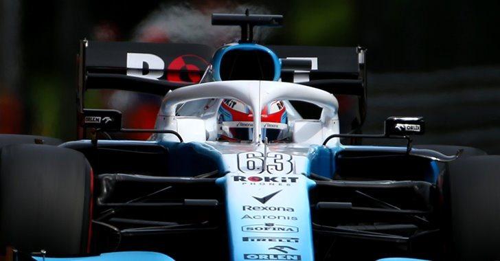 George Russell en el GP de Italia