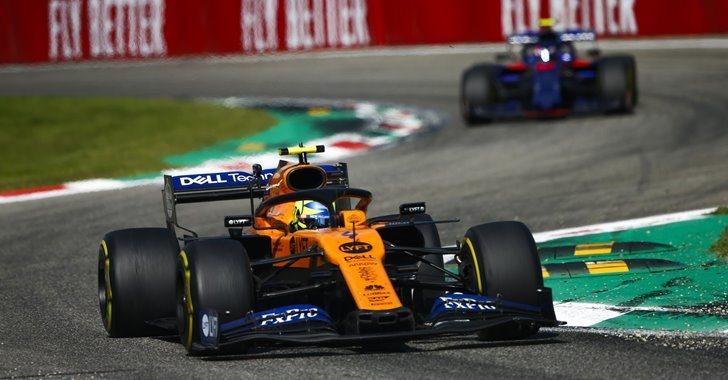 Lando Norris en el GP de Italia