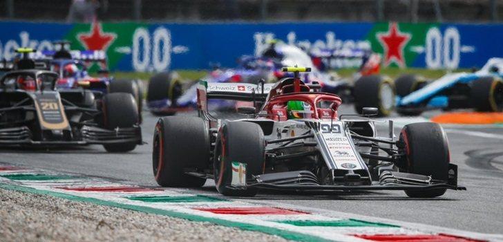 Antonio Giovinazzi, en el GP de Italia 2019