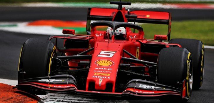 Sebastian Vettel Monza 2019