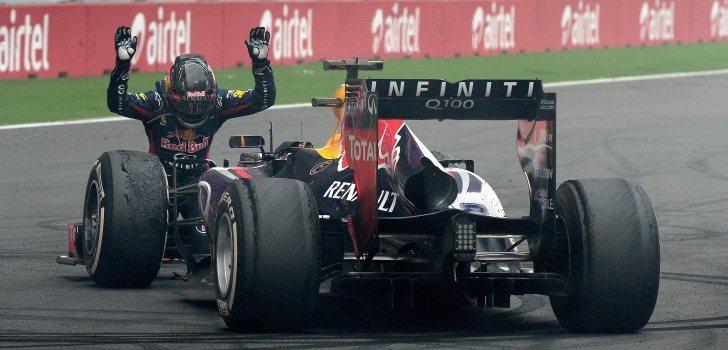 Vettel gana título Red Bull