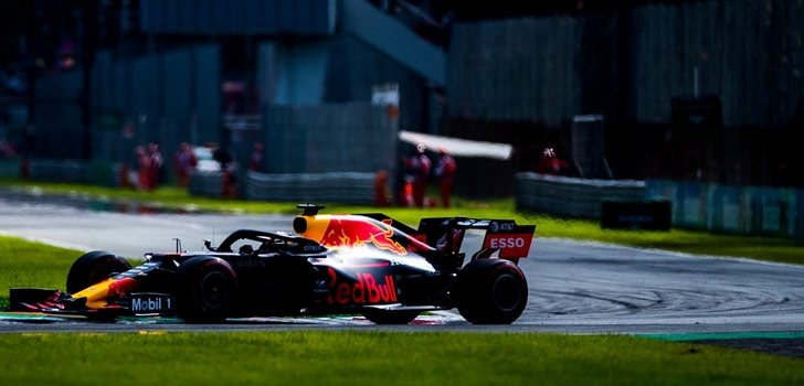 Max Verstappen, en el GP de Italia de F1