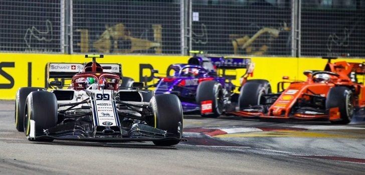 Giovinazzi lidera el GP de Singapur 2019