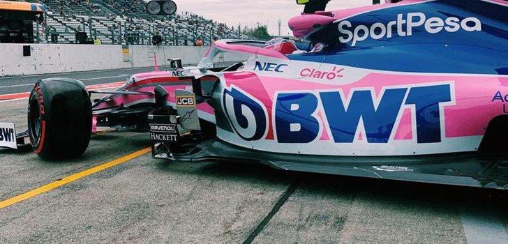 Sergio Perez, cerca de liderar la zona media