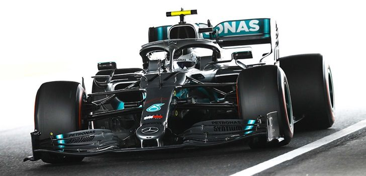 Bottas, en los Libres 2 del GP de Japón