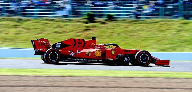 Sebastian Vettel finaliza segundo en Japón
