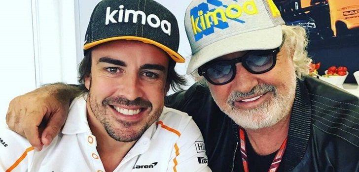Alonso y Briatore, juntos en 2018