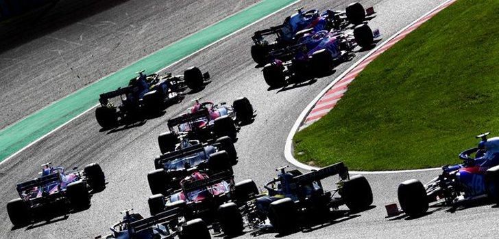 Salida del Gran Premio de Japón