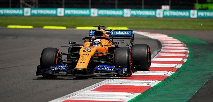 Sainz logra el séptimo mejor tiempo en la sesión de Clasificación del GP de México