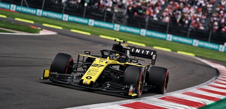 Nico Hülkenberg, en la Q2 de la qualy del GP de México
