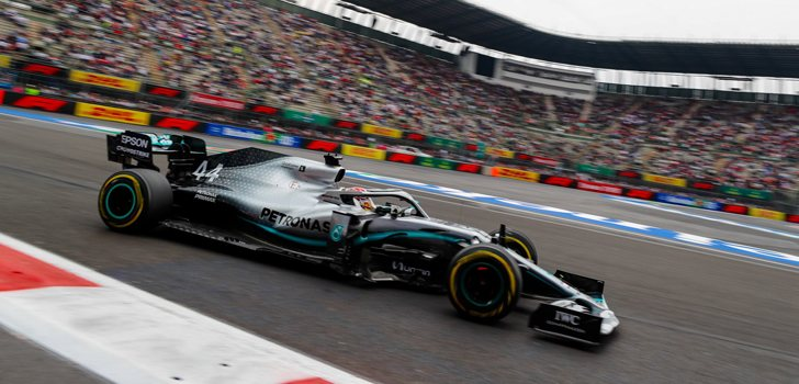 Lewis Hamilton, lejos de la pole