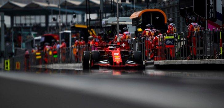 Vettel, en el Autódromo Hermanos Rodríguez