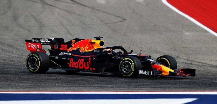 Verstappen, en los Libres 2 del GP de Estados Unidos