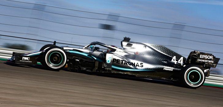 Lewis Hamilton, el mejor en Libres 2 en Estados Unidos