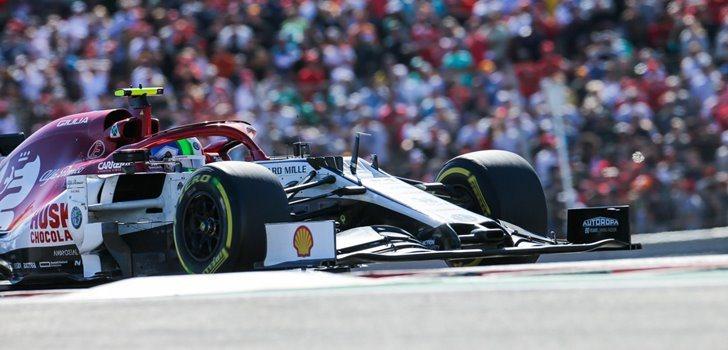 Antonio Giovinazzi en el GP de Estados Unidos