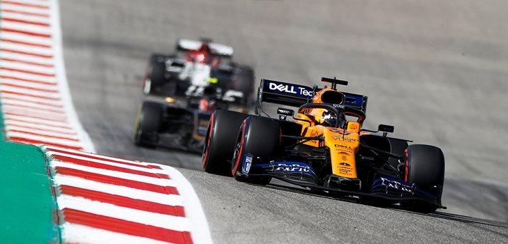 Sainz, por delante de Magnussen y Räikkönen en Austin
