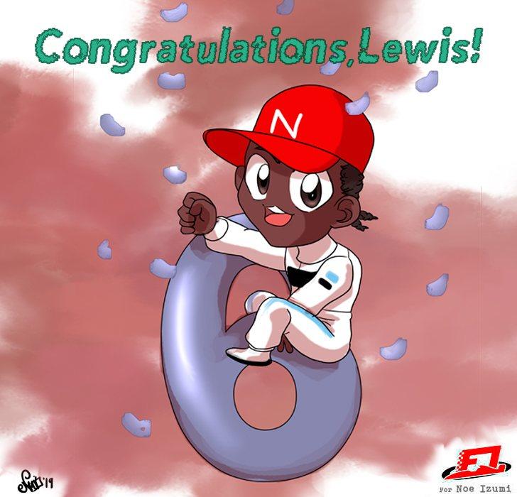 Los Chibis (289): Congratulations, Lewis!