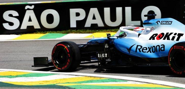George Russel, en la Qualy del GP de Brasil