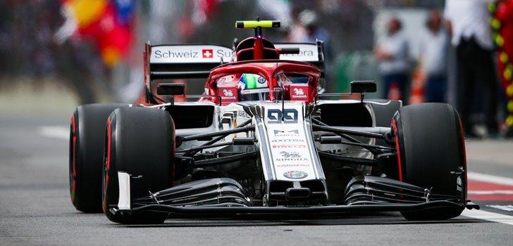 Antonio Giovinazzi en el GP de Brasil)