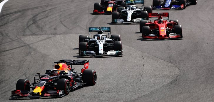 Verstappen logra la victoria en el GP de Brasil 2019