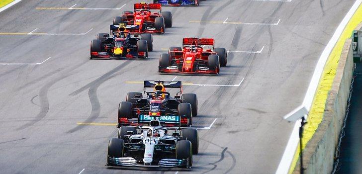 Hamilton lidera el GP de Brasil