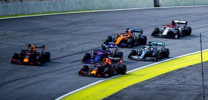 Verstappen gana en Brasil 2019